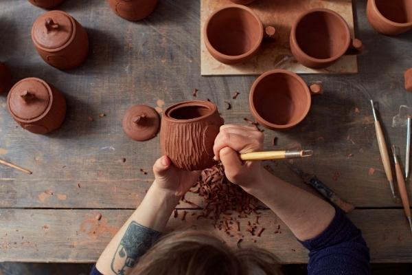 Le matériel de poterie