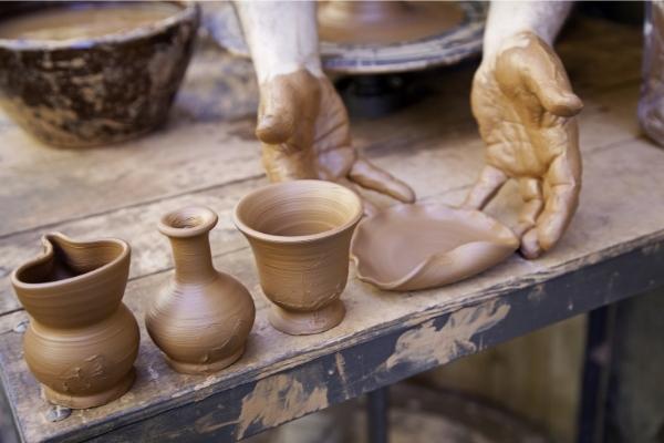 Argile pour poterie